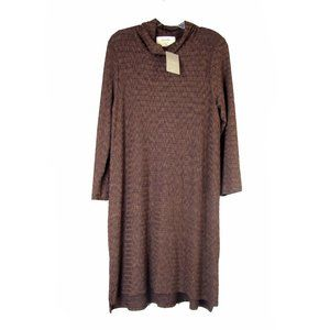 Anthro Puella Soft Light Knit Shift Dress XL NEW